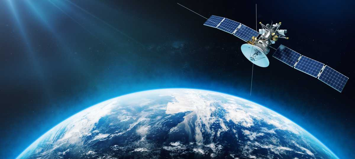 GPS Satellitenortung